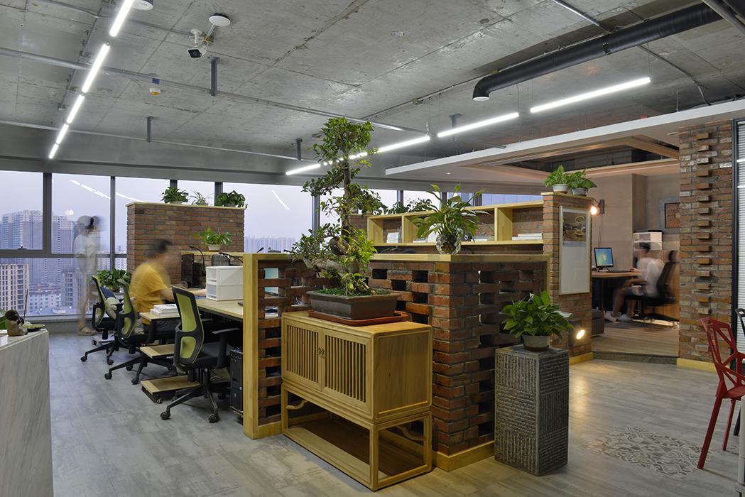 前世今生—集景设计办公新址