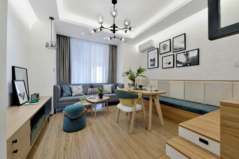 太原MOMA——当代广场公寓展示样板间设计项目(48平)