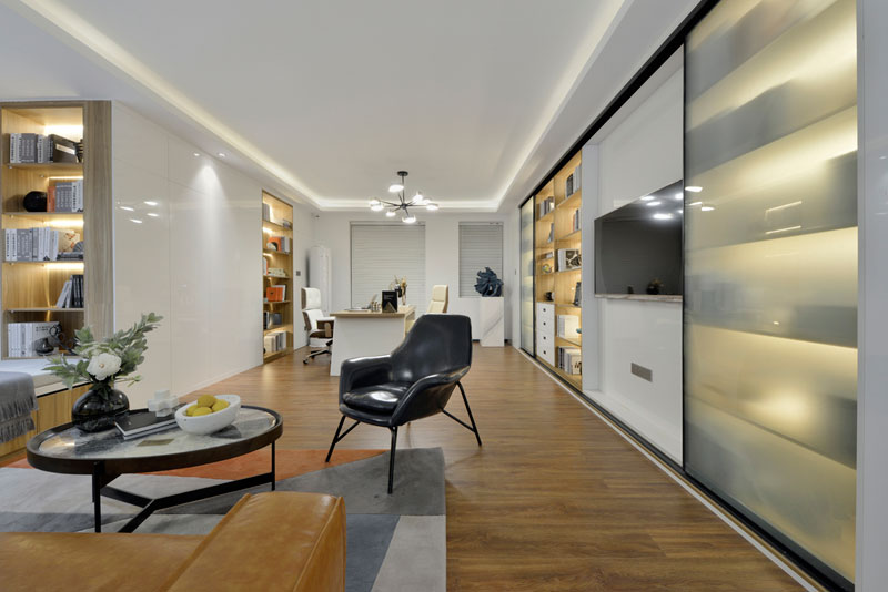 太原MOMA——当代广场公寓展示样板间设计项目(85平)