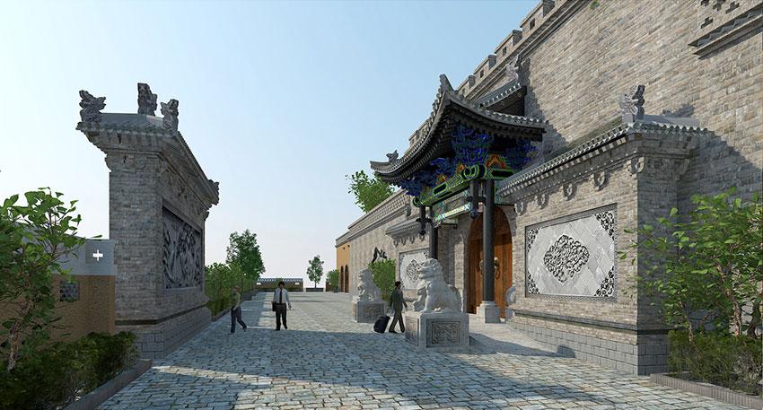 横坡古村旅游接待中心建筑景观前期规划方案